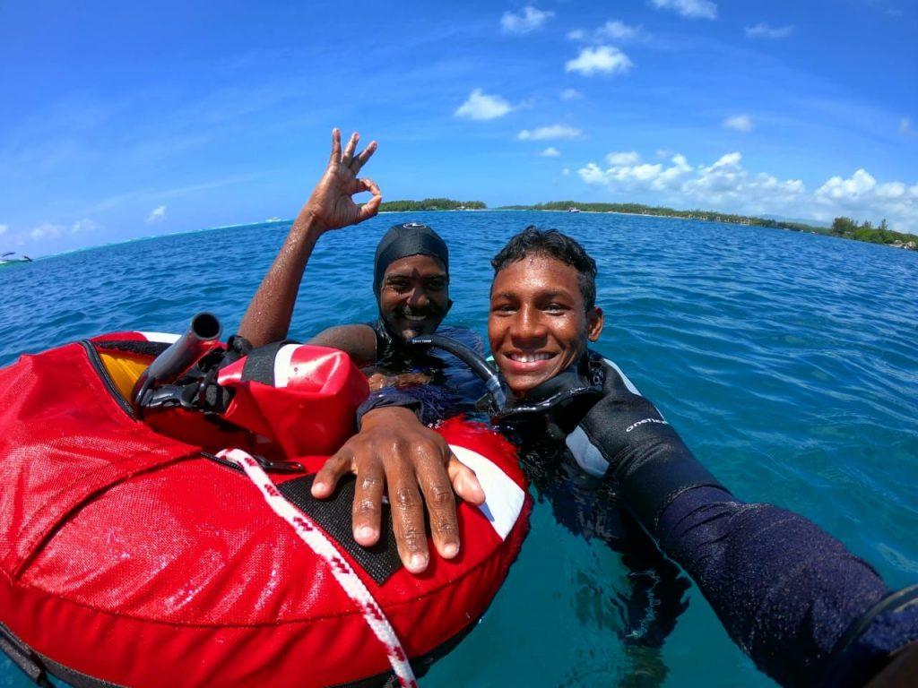 Freediving Mauritius